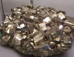 A great big hunk of pyrite