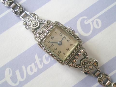Art Deco Marcasite Watch